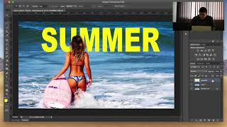 How to make a Summer Photo Effect in Photoshop Tutorial