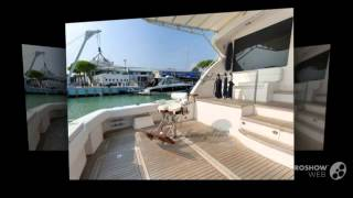 Bertram yacht 700 convertible power boat, flybridge yacht year - 2008