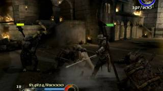 The Return of the King - Minas Tirith (Courtyard)
