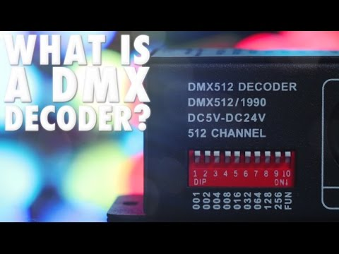 How to Use a DMX Decoder for LED Lighting