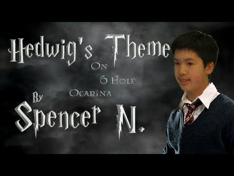 Hedwigs Theme from Harry Potter on 6 Hole Ocarina & Special Effects Surprise!