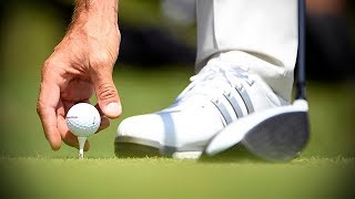 Golf Tips How high to tee a golf ball