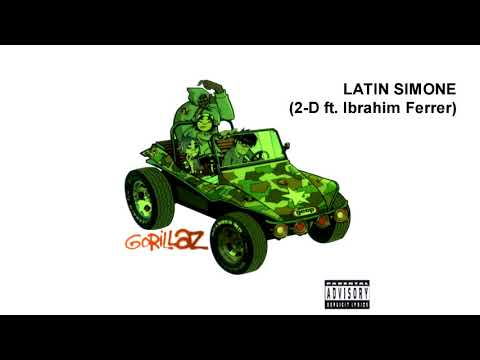 GORILLAZ - Latin Simone (2-D Ft. Ibrahim Ferrer)