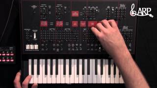 ARP ODYSSEY Analog Synthesizer Full Tutorial German