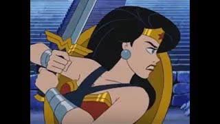 Wonder Woman in Scooby Doo--- Funny and Badass Moments