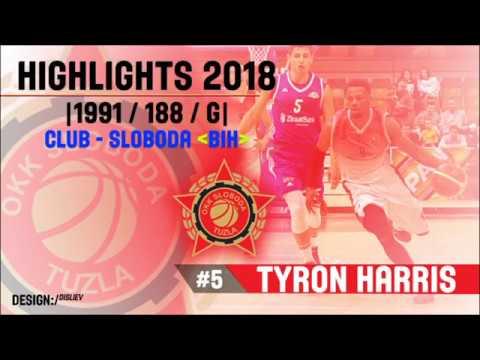 TYRON HARRIS HIGHLIGHTS 2018