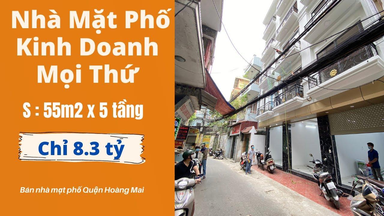 image Bán Nhà Mặt Phố Quận Hoàng Mai Hà Nội Kinh Doanh Mọi Thứ   Bán Nhà Hà Nội 2021