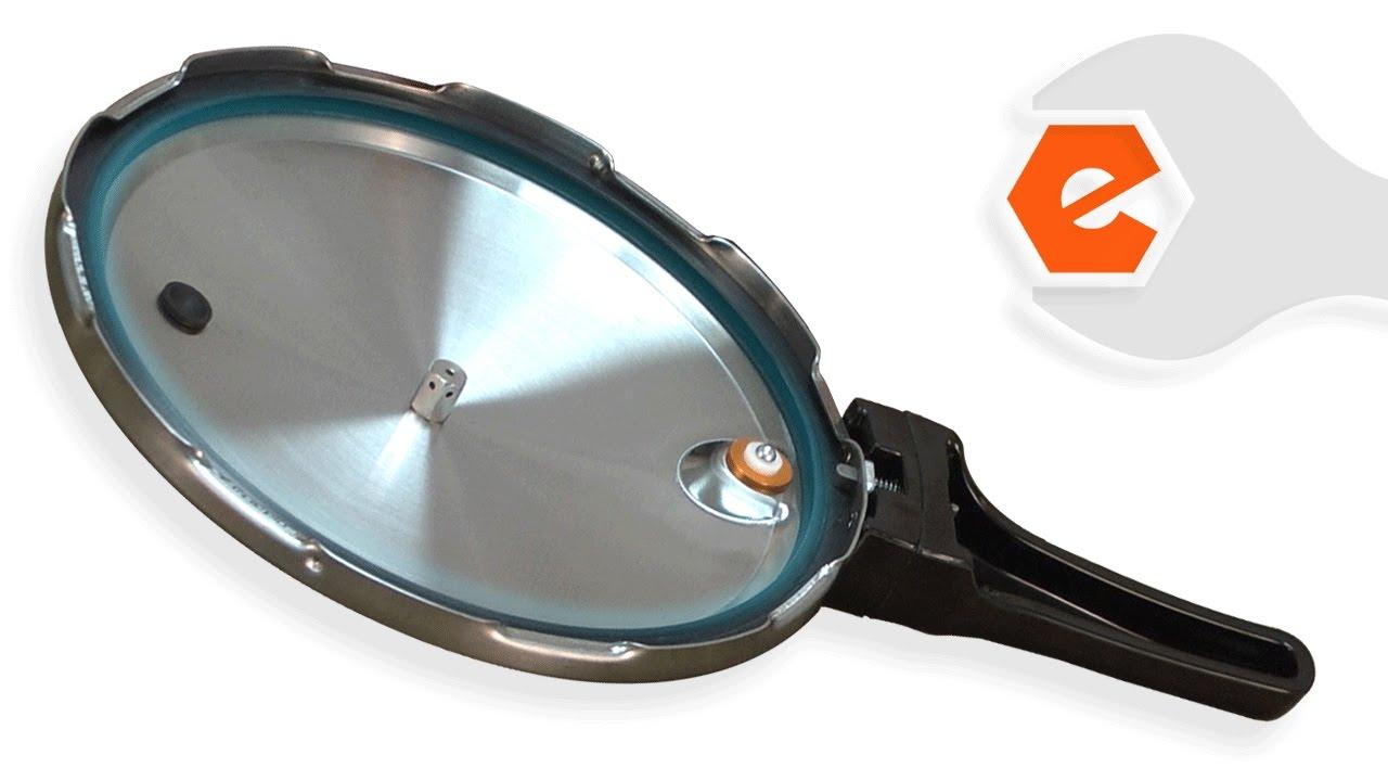 Pressure Cooker Repair Replacing The Sealing Ring Overpressure Plug Presto Part 9936