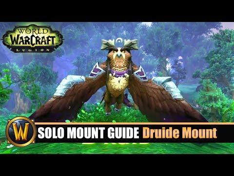 Telars Solo Mount Guide #51 Druide Class Mount (7.2.5)