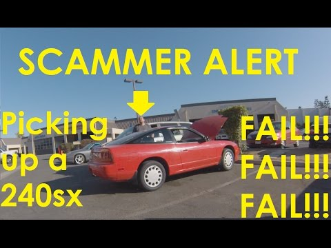 Buying a VQ swap 240sx S13 SCAM CAUGHT