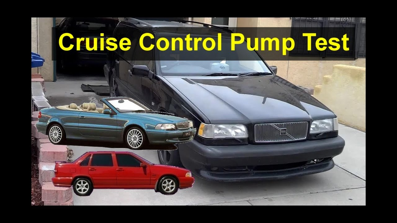 volvo cruise control diagram how to test the cruise control pump for troubleshooting volvo 850  cruise control pump for troubleshooting