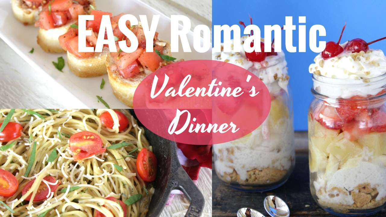 Easy vegan valentines day dinner for 2 three courses for Simple valentines day dinner