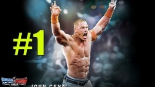 WWE Smackdown vs Raw 2011 John Cena Part 1 ROAD TO WRESTLEMANIA