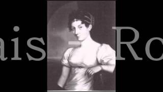 Fanny de Beauharnais -  Romance faite à Ermenonville