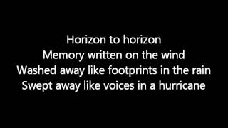 Rush-Vapor Trail (Lyrics)