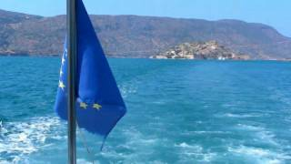 Greece faces the gods. The disaster of the Greek euro crisis symbolised by the Leper colony