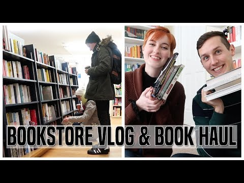 BOOKSTORE VLOG + BOOK HAUL | NYC