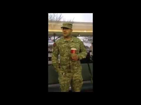 Stolen Valor Fake EOD Outed By Veteran and Cop in Fresno Airport