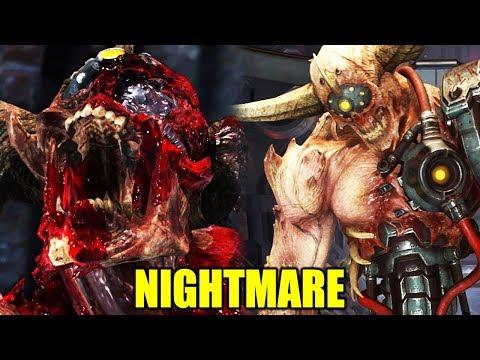 Doom Eternal - Doom Hunter Boss Battle On Nightmare - Midnight