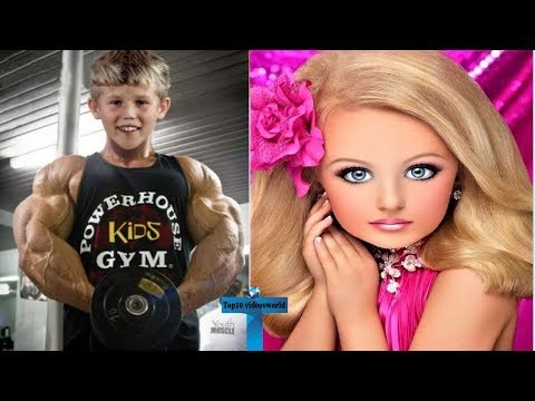 Top 10 Unbelievable & Amazing Kids In The World