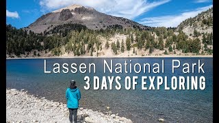 Lassen Volcanic National Park: 3 Days of Exploring and Backpacking