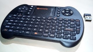 MINI Keyboard with Touchpad: Unboxing & Review