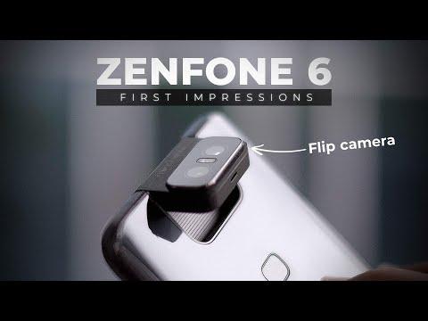 ZenFone 6 First Impressions: The Flip Camera Beast!