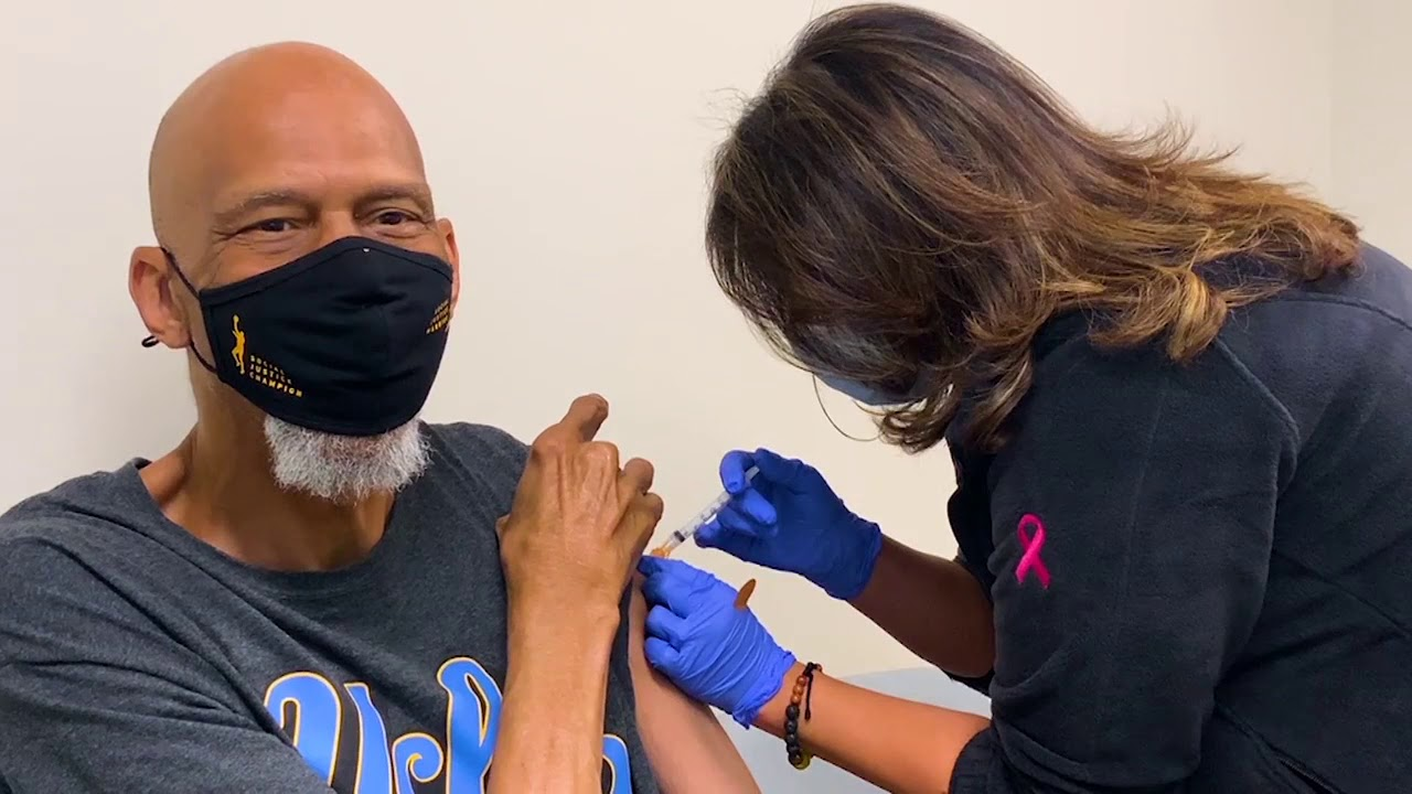 Kareem Abdul-Jabbar to receive COVID-19 vaccine as part of NBA efforts to promote vaccination