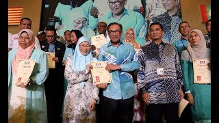 PKR welcomes newly elected top leaders