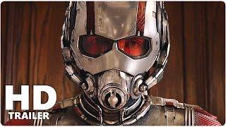 Ant Man Alle Trailer German Deutsch | Marvel Film 2015 | Paul Rudd, Michael Douglas