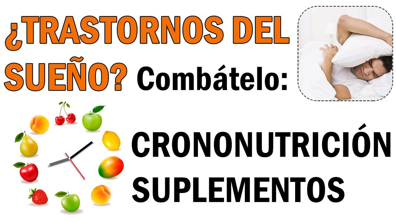 Aprende Cómo COMBATIR los TRASTORNOS DEL SUEÑO 😴  [Crononutrición Y Suplementación]