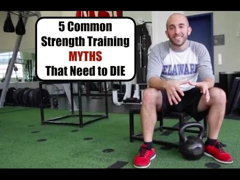 5 Strength Training Myths That Need to Die