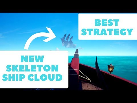 Skeleton Ship Cloud  EPIC Strategy Sea of Thieves