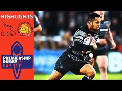Newcastle Falcons V Exeter Chiefs | Premiership Rugby Cup