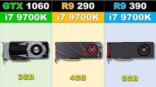 GTX 1060 vs R9 290 vs R9 390 Newest Games Benchmarks 2019