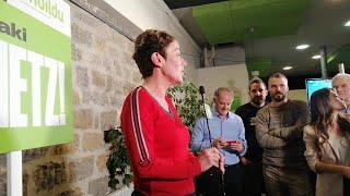 """Pozueta (EH Bildu) dice que exigirá en el Congreso """"justicia y democracia"""""""