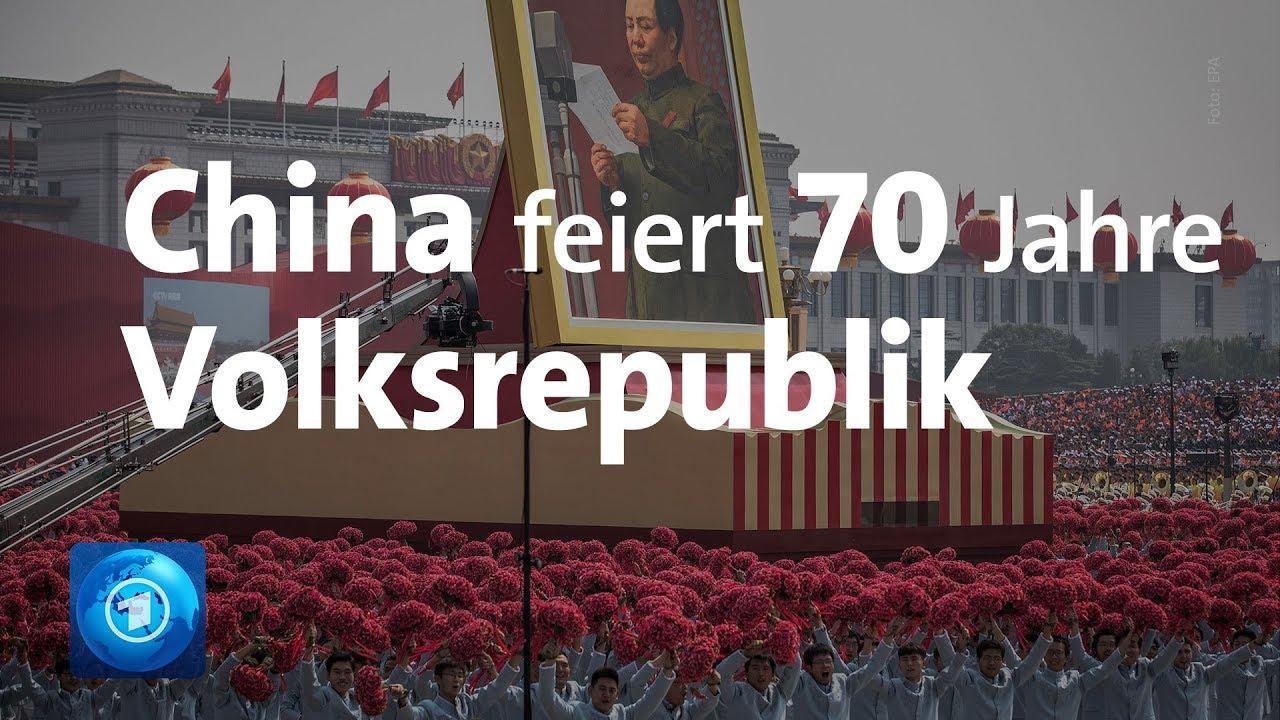 China 70 jahre feier