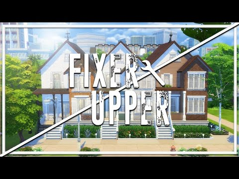 ABANDONED TOWN HOUSES // The Sims 4: Fixer Upper - Home Renovation