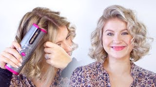 World's First WIRELESS AUTOMATED Curling Iron | Milabu