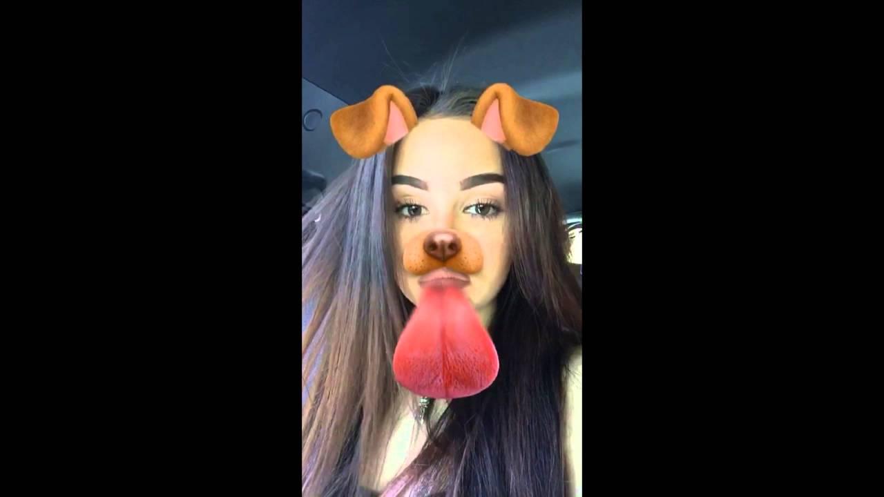 Maggie Lindemann Snapchat Story 11-20 April 2016 - YouTube