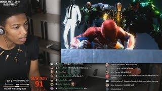 Etika Reacts to Spider-Man E3 2018 Gameplay [Etika Stream Highlight]