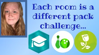 Every Room is a Different Pack Challenge...