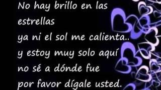 Digale- David Bisbal ( with lyrics in Spanish and english translation)