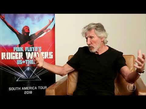 Roger Waters promove nova turnê no Brasil (Jornal Hoje)