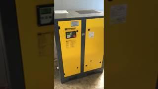 видео Компрессорные станции Kaeser до 22 кВт