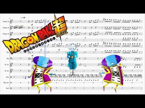 Dragon Ball Super Sheet Music - Tournament of power Medley Song - Brass arrangement