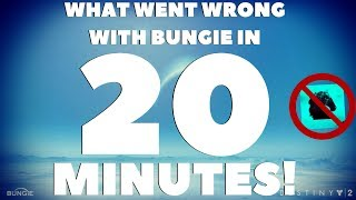 Everything Wrong With Destiny 2 in 20 Minutes... RANT VIDEO! Destiny 2 Is DYING!