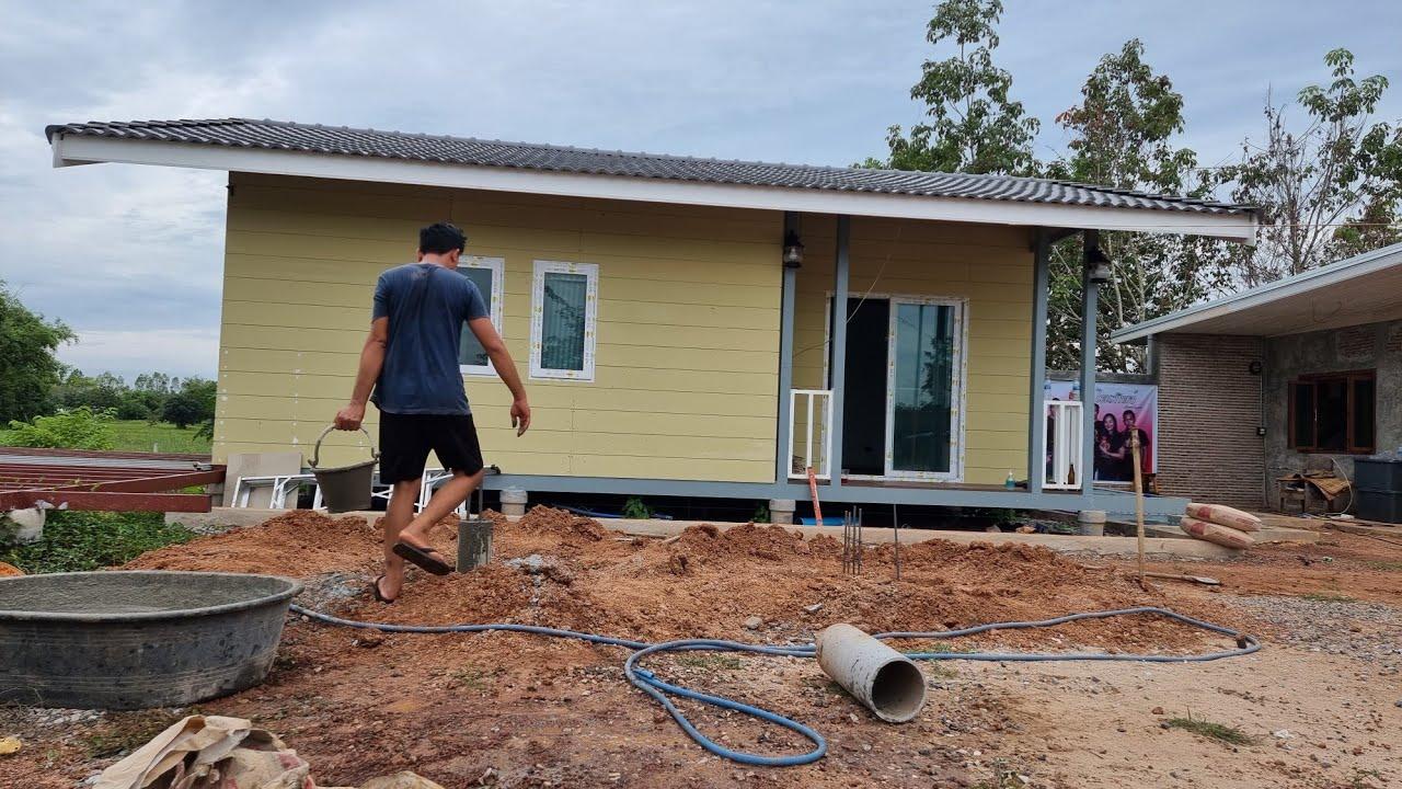 เริ่มโครงการก่อสร้างอีกครั้ง โคกหนองนาในฝัน #ทีมงานบ้านนา #บ่าวนิพล