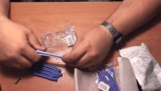 Инструмент для вскрытия корпуса сотовых телефонов, посылка из Китая - Обзор