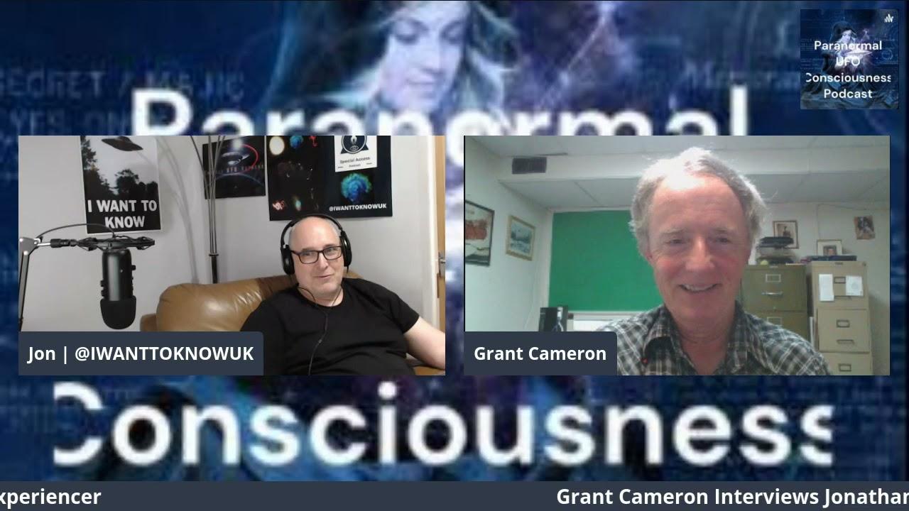 Grant Cameron interviews Experiencer Jonathan Davies